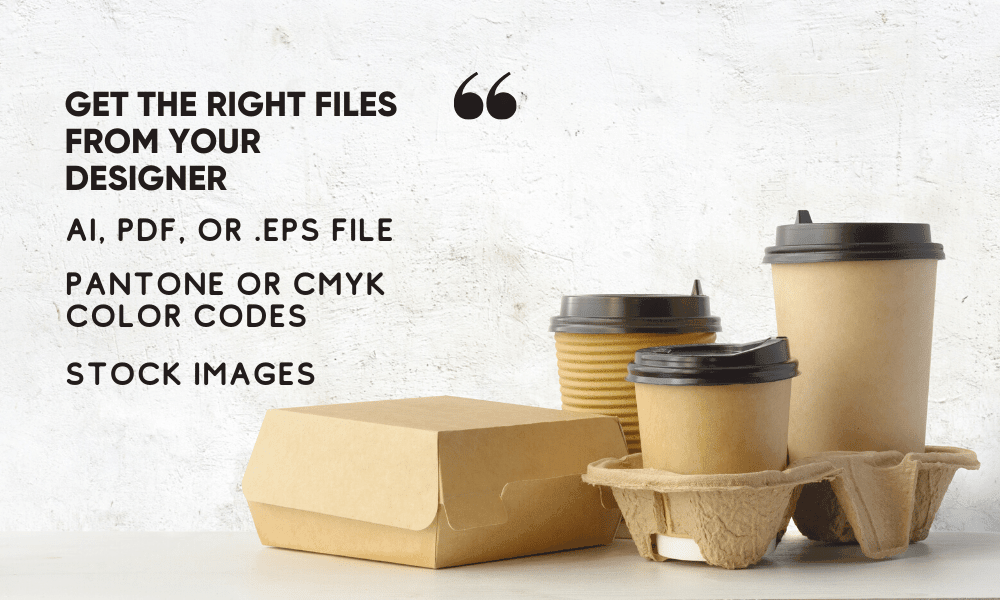 get right file of Packaging design