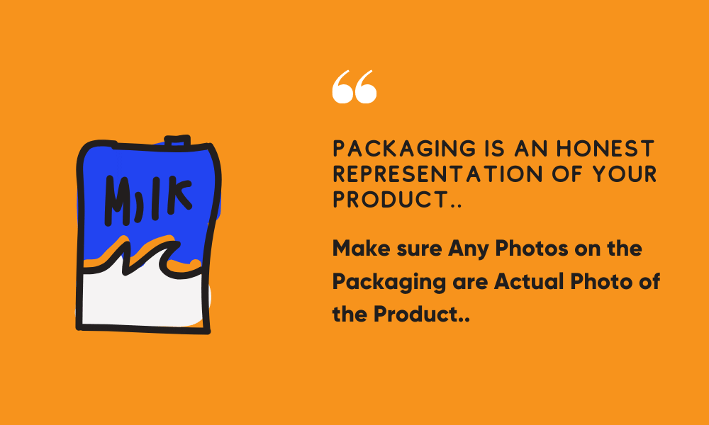 packaging is presentation of product