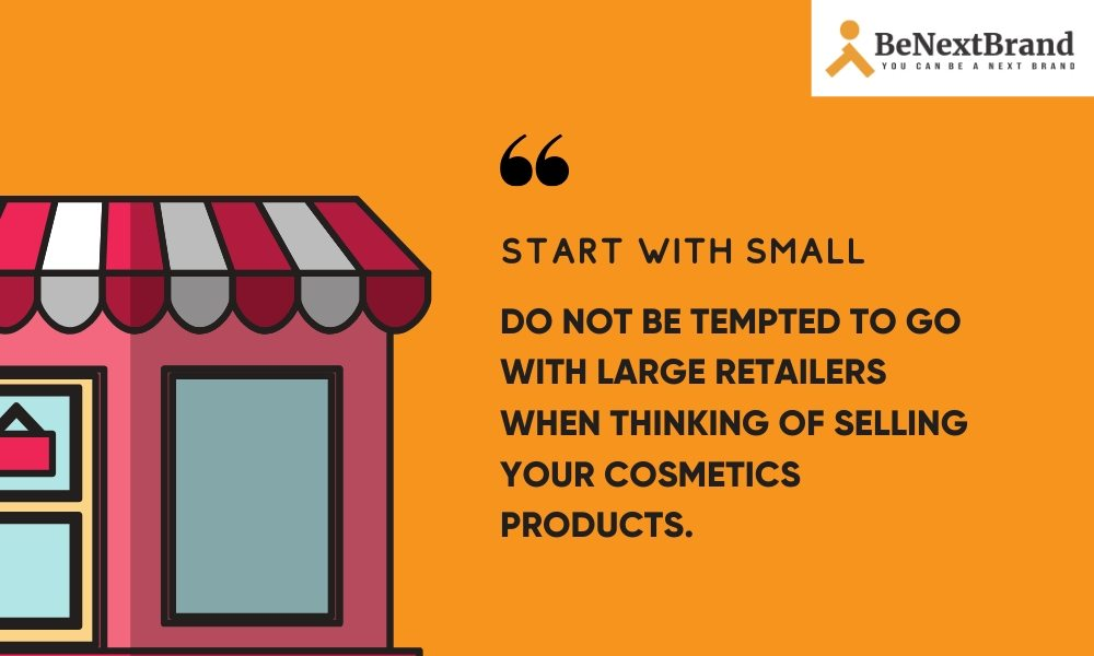 tips to make cosmetic brand