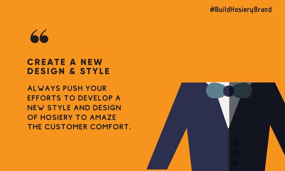 design tips build hosiery brand