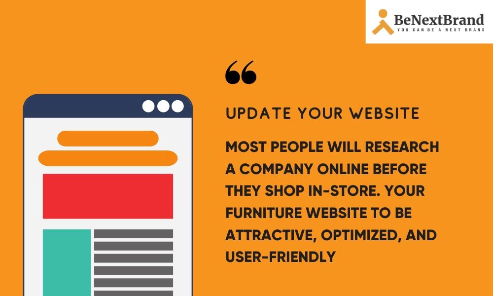 website marketing tips build furniture brand