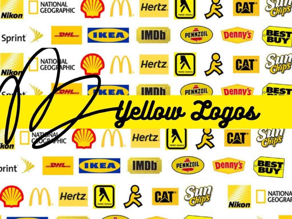 yellow Logos of Popular Brands