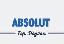Absolute Brand Slogans