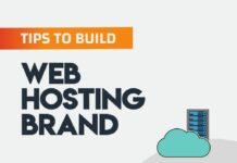 build Web hosting brand