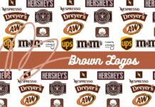 Brown logos of Popular Brands