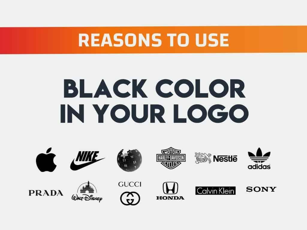 Why Choose Black Color Logo