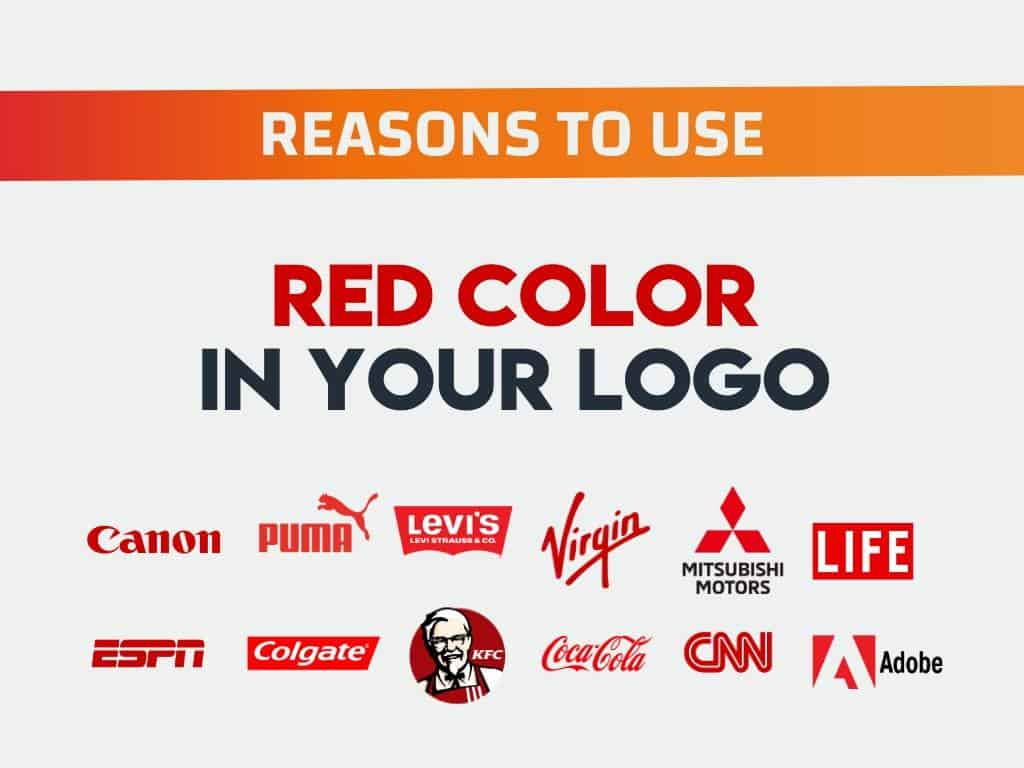 Why Choose Red Color in Logo