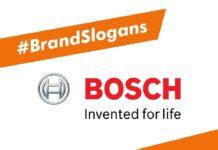 Best Bosch Brand Slogans
