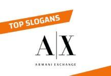 Best Armani Exchange Brand Slogans