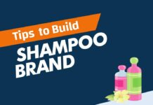 Tips to Build A Shampoo Brand from a Scratch