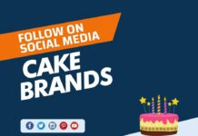 Cake Brands to Follow on Social Media
