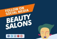 Beauty Salons to follow on Social Media