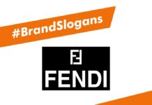 Fendi Brand Slogans