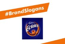Cadbury Eclairs Brand Slogans