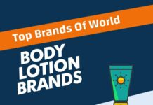Body Lotion Brands in the World