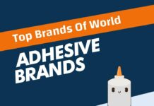 Adhesive Brands in the World
