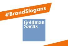 Best Goldman Sach's Brand Slogans
