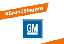 General Motors Brand Slogans