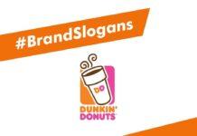 Dunkin Donuts Brand Slogans