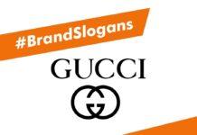 Gucci Brand Slogans