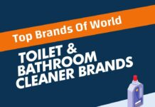 Best Toilet and Bathroom Cleaner Brands in the world