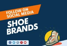 Shoe Brands to follow on Social Media