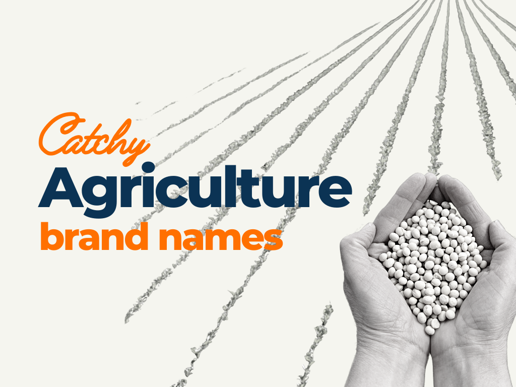 agriculture brand names ideas