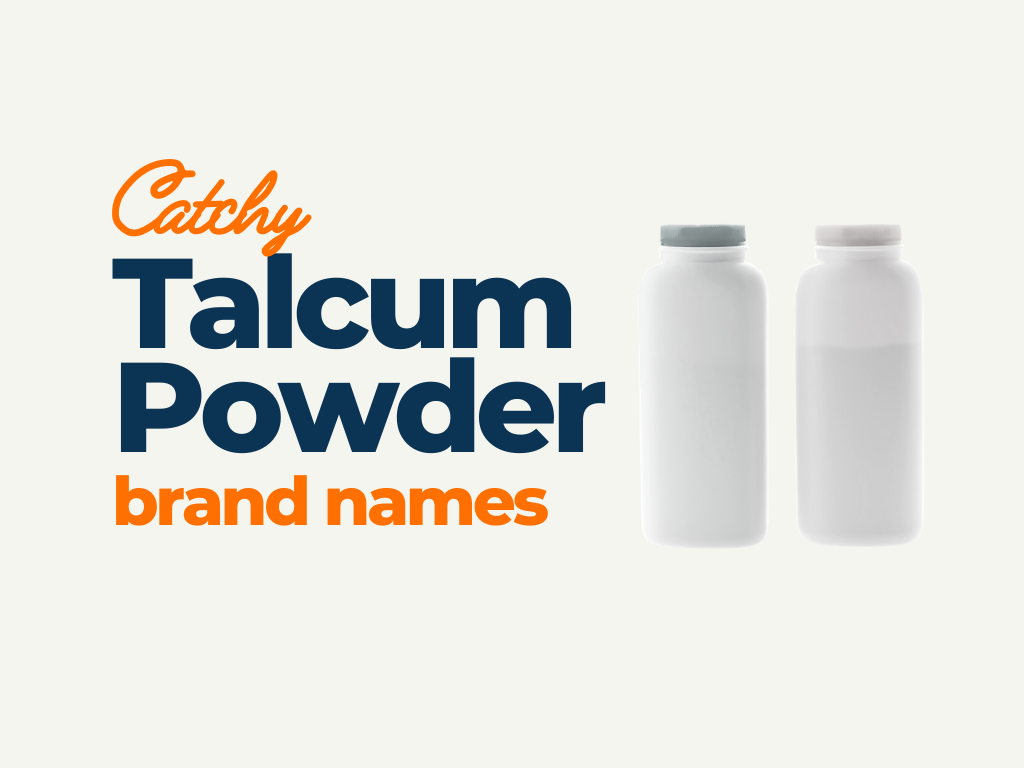 talcum powder brand names