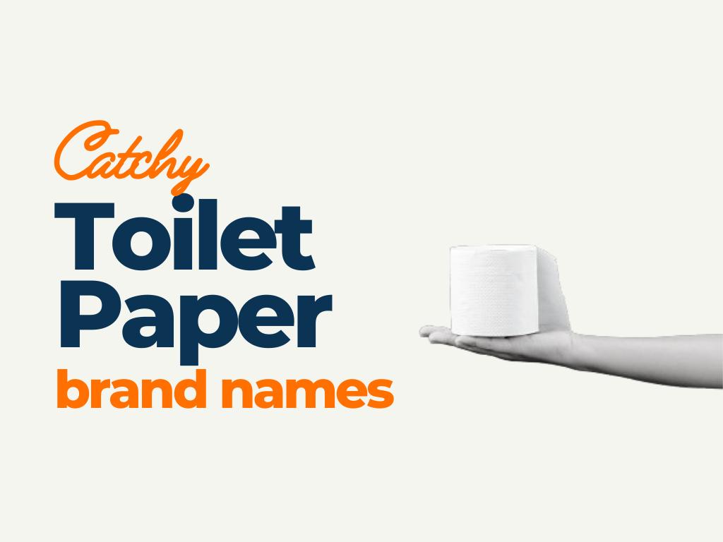 toiler paper brand names
