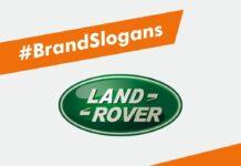 Land Rover Brand Slogans