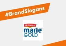 Marie Gold Brand Slogans
