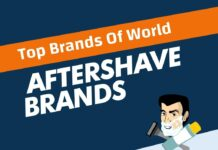 Aftershave Brands in the World