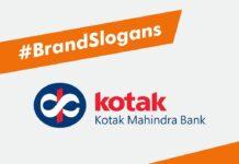 Best Kotak Mahindra Bank Brand Slogans