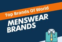 Menswear Brands in the World
