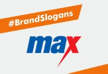 Max Brand Slogans