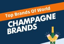 Champagne Brands in the World