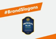 Imperial Blue Brand Slogans