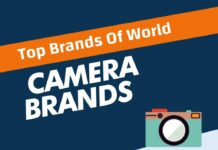 Camera Brands in the World