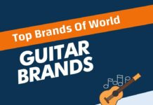 Guitar Brands in the World