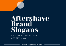 Aftershave Marketing Slogans