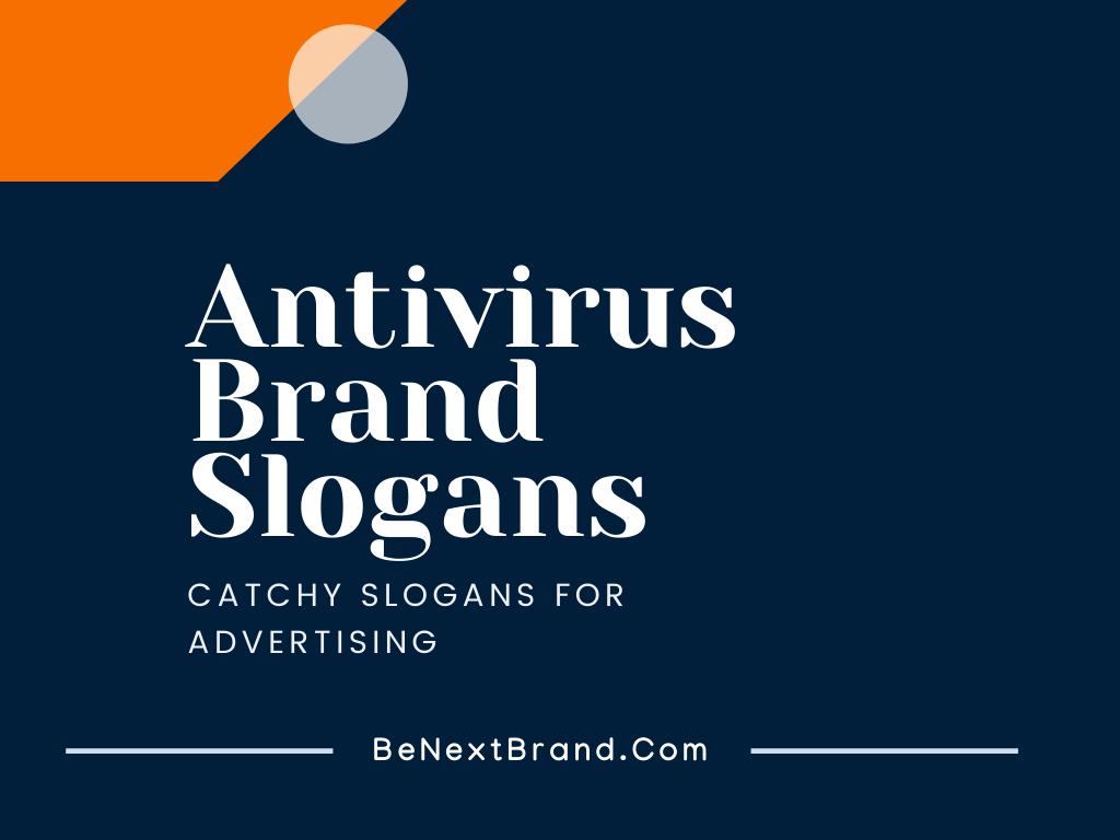 antivirus brand slogans taglines