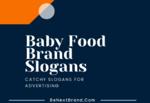 baby food marketing slogans taglines