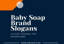 baby soap marketing slogans