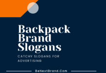 backpack marketing slogans