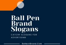 Pen Brand Marketing Slogans