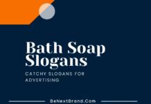 Bath Soap Marketing Slogans