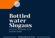 Bottled Water Marketing Slogans