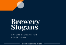 Brewery Marketing slogans
