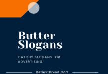 Butter Marketing slogans