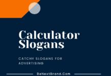Calculator Marketing Slogans